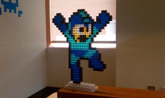 Megaman en Pixelblocks
