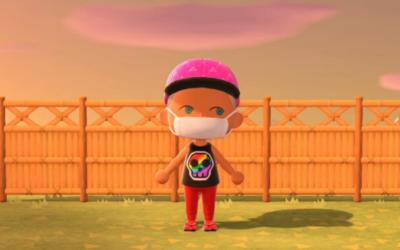 "Diseño ""Colorful Skull"" para Animal Crossing"